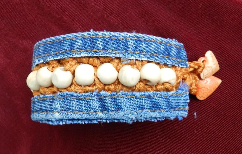 Как называется браслет из ткани своими руками