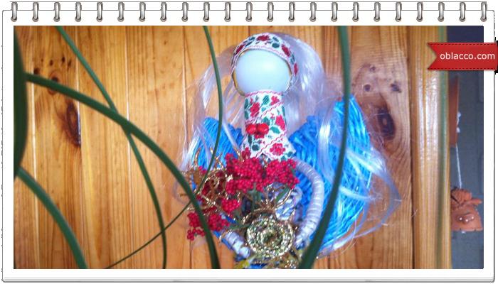 кукла ангел, плетение из газетных троубочек