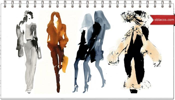 шаблон одежда