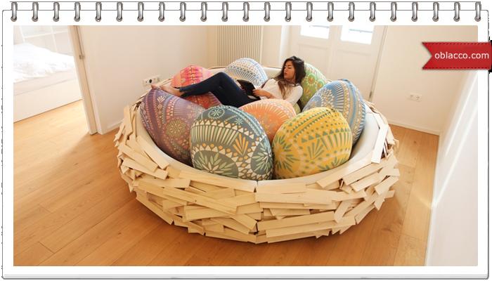 гнездо диван