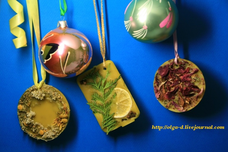 Флорентийское саше – натуральный ароматизатор из воска