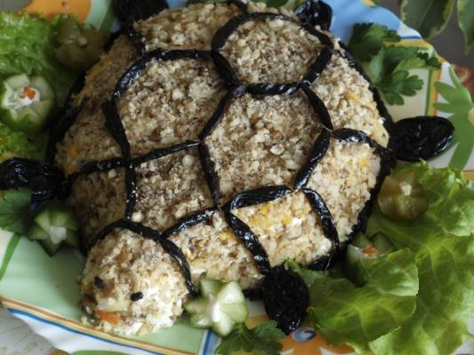 салат с черносливом рецепт с фото с курицей