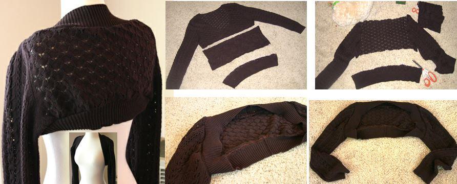 Как перешить свитер своими руками фото