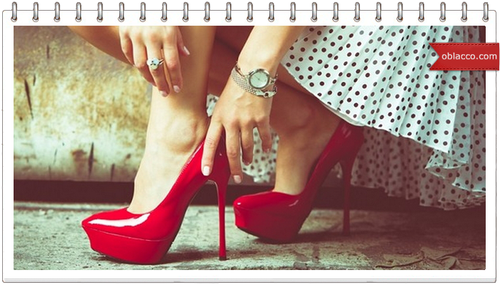 шпильки обувь
