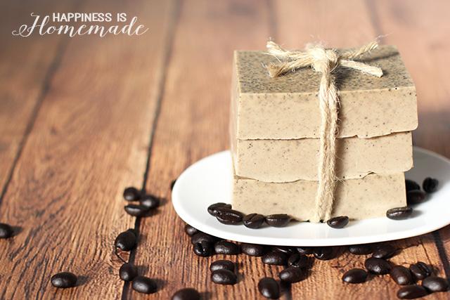 кофе с молоком мыло