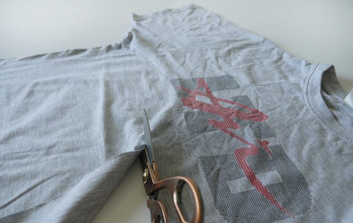 пряжа из старых футболок