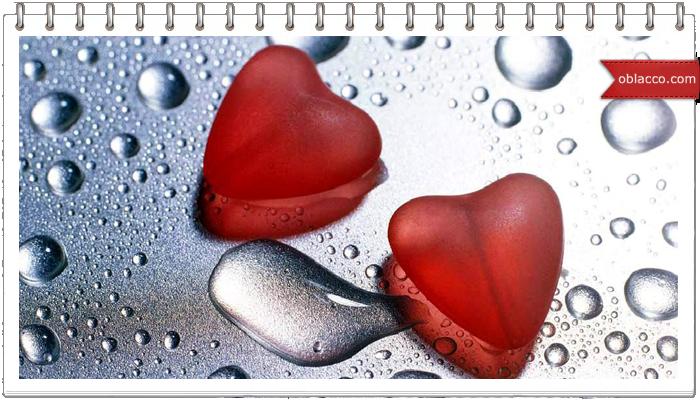 Валентинки из топленых восковых мелков