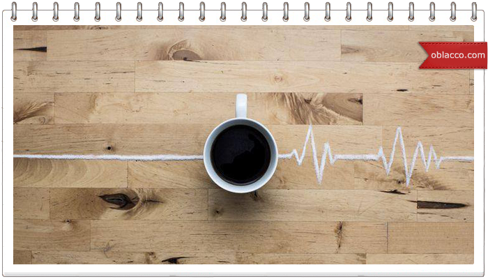 кофе сердце