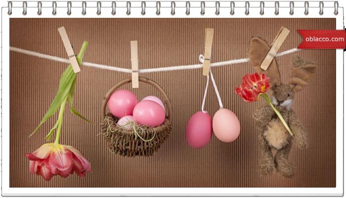 Яйца пасхальные своими руками. Плетение из газет