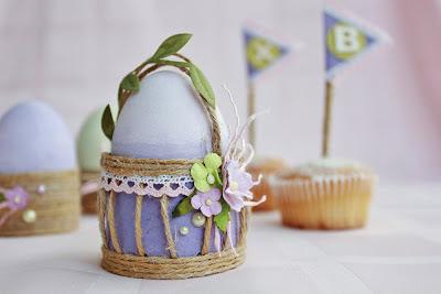 корзинка пасхальные яйца ждут