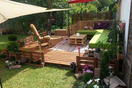 поддоны деревянные мебель для дачи