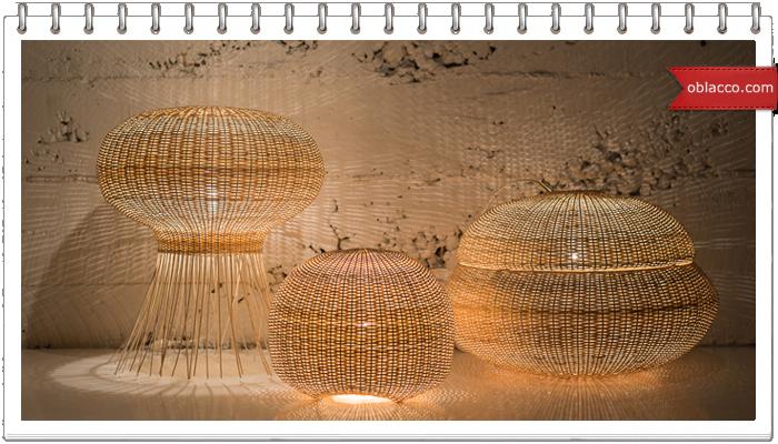 Плетеный абажур из своими руками фото 4