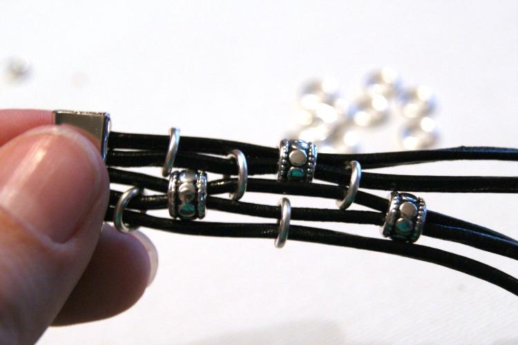 Как сделать кожаные браслеты своими руками 96