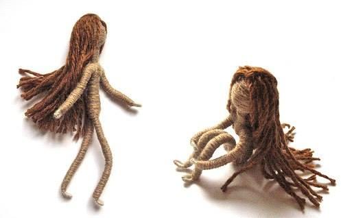 Кукла своими руками с каркасом