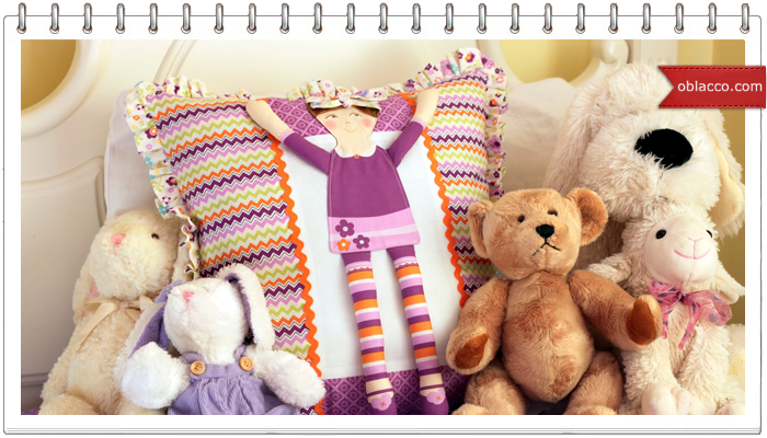 Подушки для кукол своими руками