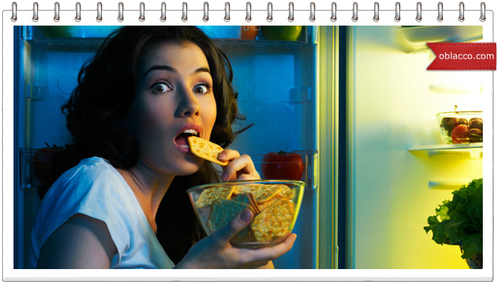 Как отучить себя не есть на ночь?