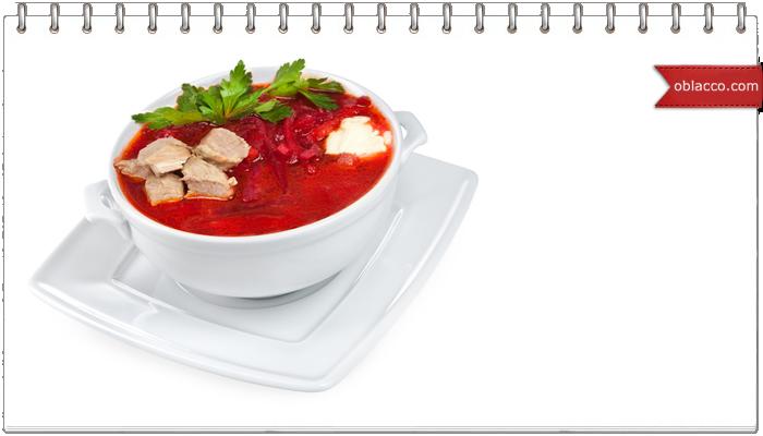 первые блюда супы рецепты борщ