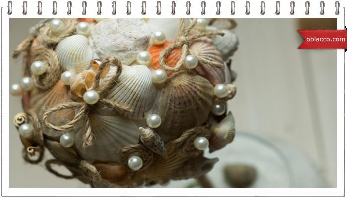 ракушки топиарий морской