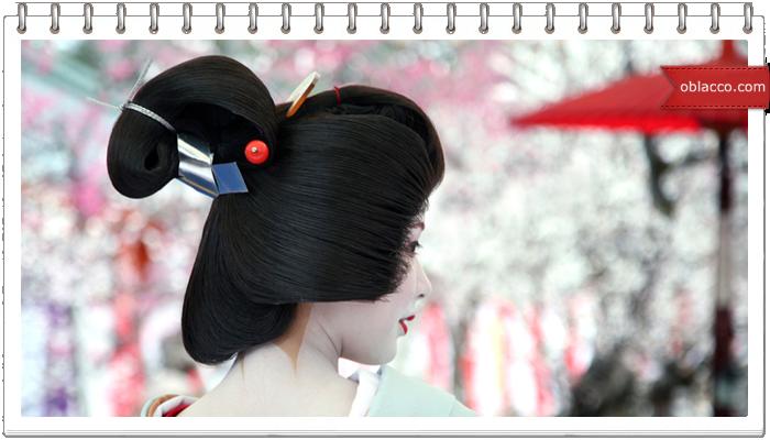 Японский стиль причесок