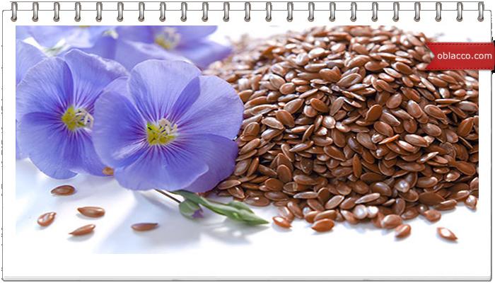 семя льна здоровье, красота