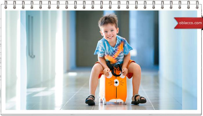 Пластиковый чемодан с принтом – выбор людей с хорошим вкусом