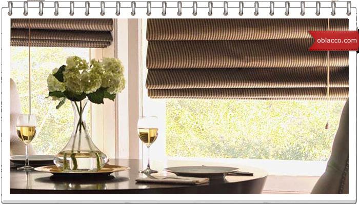 Римские шторы – изысканно и практично