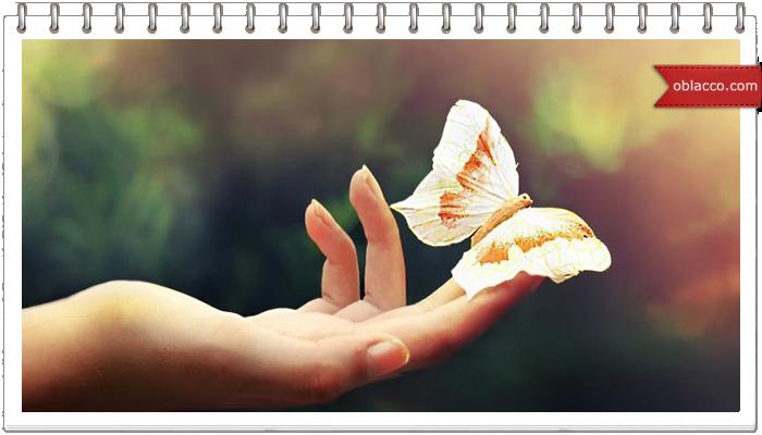 Плетеные часы-бабочка