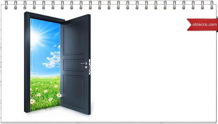 Декор дверей, флористика и плетение