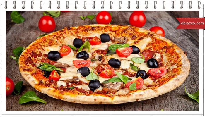 Пицца с тестом из кабачков