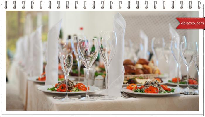 Роль скатертей в интерьере ресторана