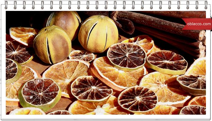 Шары кексы и апельсин на елку. Новогодний декор