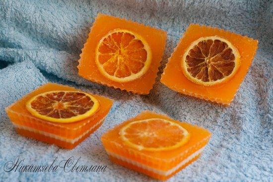 Апельсин мыло своими руками
