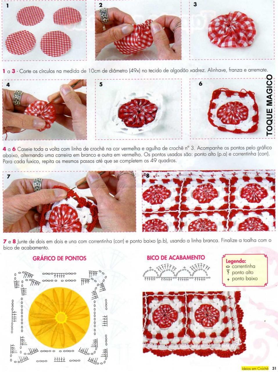 Красивейшие скатерти: ткань и кружево Рукоделие