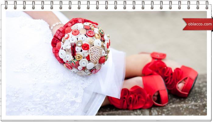 Модный букет невесты