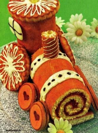 tort parovozik