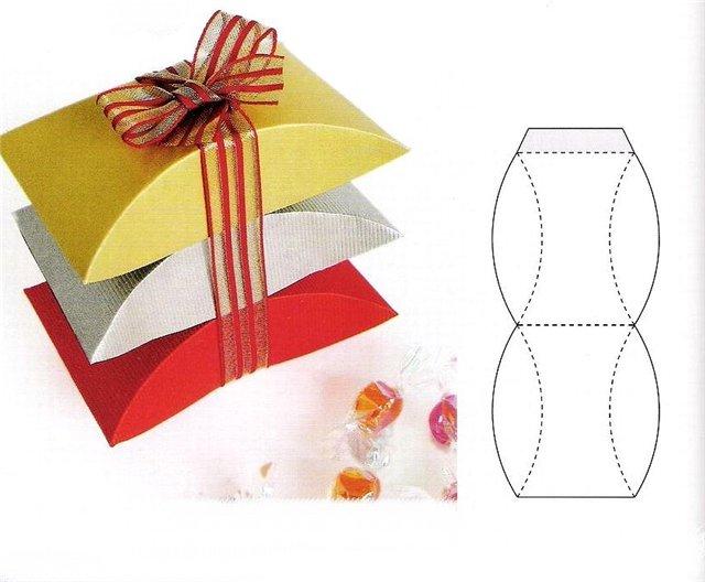Упаковать подарок своими руками коробка