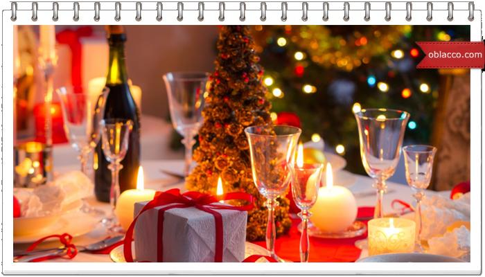 Необычное и очень простое украшение новогодних блюд