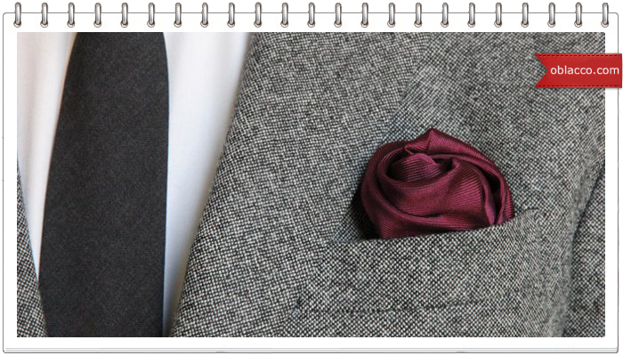 Fold pocket square wedding