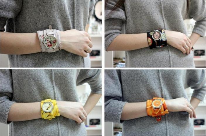 Как из кожи сделать браслет для часов своими руками 92