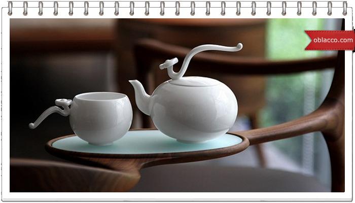 Фарфоровая посуда в интерьере