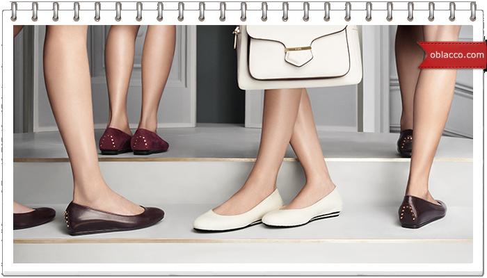 Балетки – легкая и изящная женская обувь