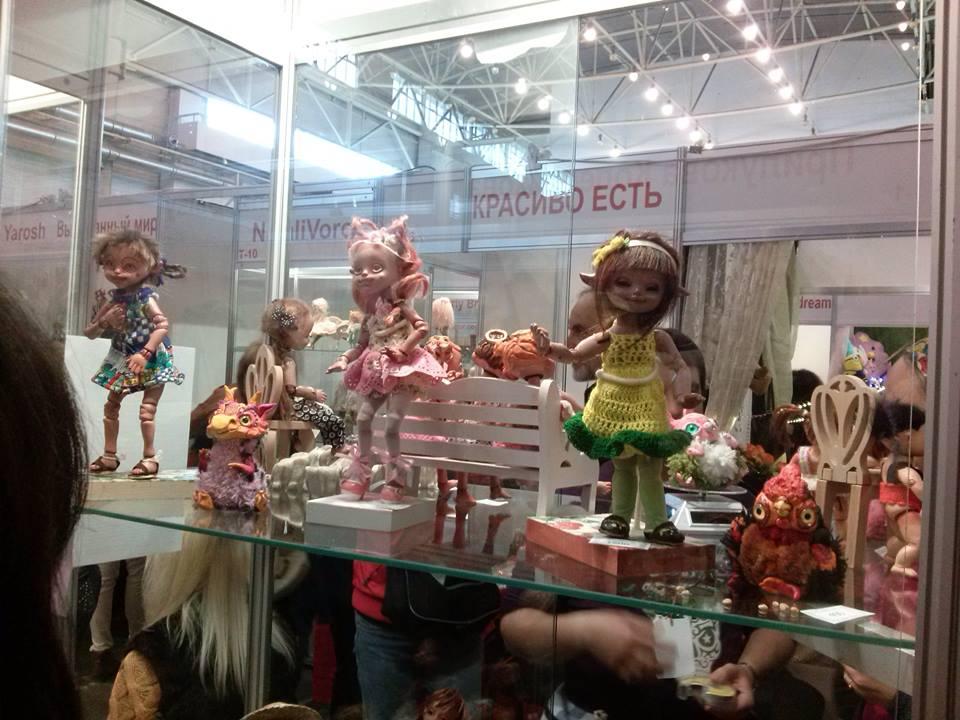 """XI Международный кукольный салон """"Модна лялька"""""""