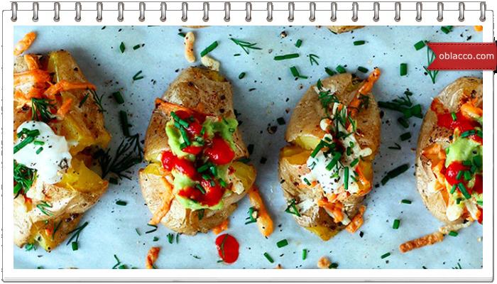 Картошка в мундире запеченная в духовке