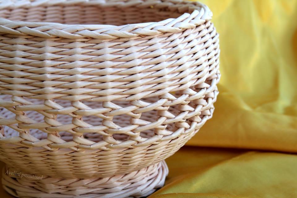 ваза плетеная ажурная