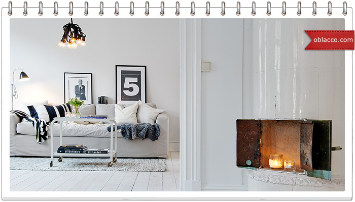 Гостиные в скандинавском стиле от дизайнера интерьера Ирины Карликовой