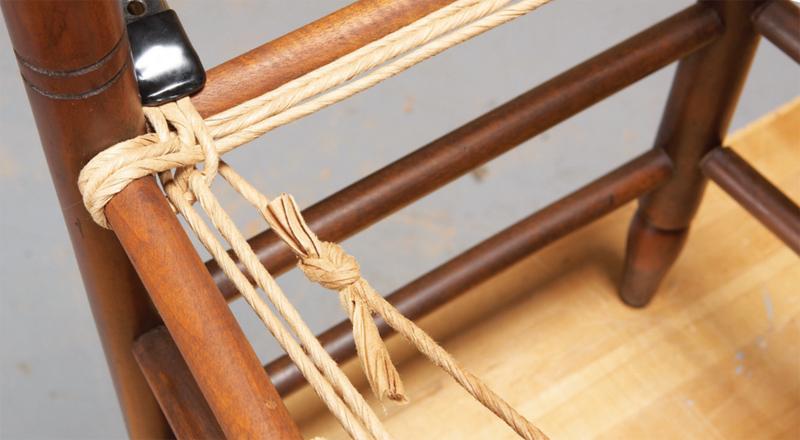 Плетеная мебель своими руками из каната 40