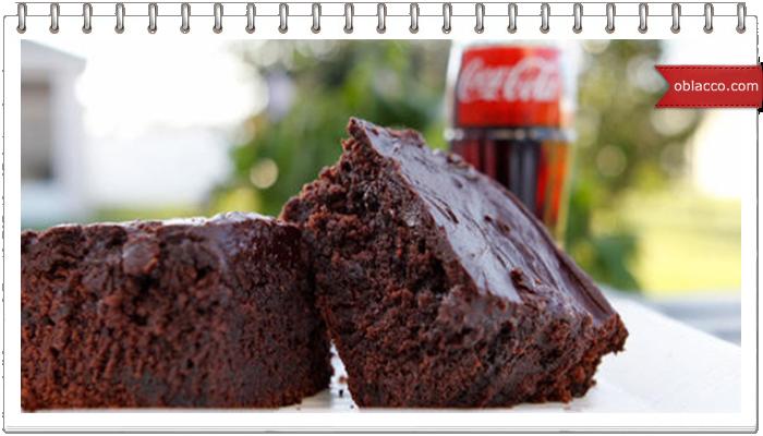 "Кексы из кока-колы и торт ""Coca - Cola"""