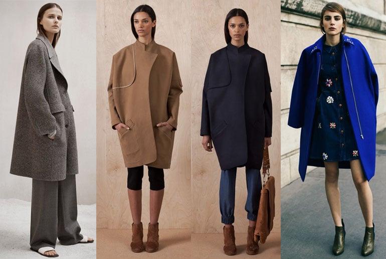 Пальто модное осень-зима 2017