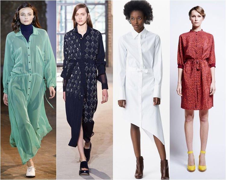 Платья стильные женские осень