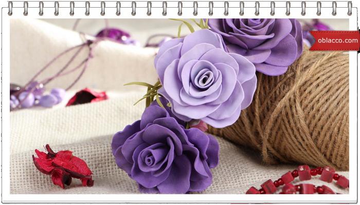 Фоамиран – основа для создания великолепных изделий ручной работы